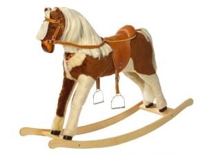 Spielzeug Pferd zum Reiten