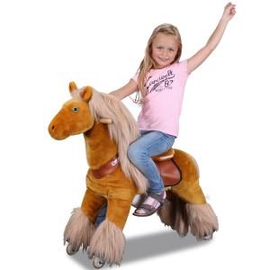 pferde auf rollen