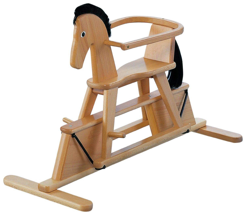 """Holz Schaukelpferd Von Geuther ~ Swingly Stern"""" ein Schaukelpferd aus Holz der Firma Geuther"""